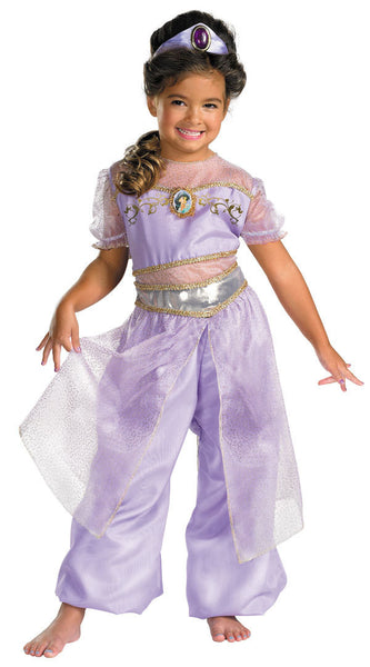 Kids Princess Jasmine Deluxe Costume