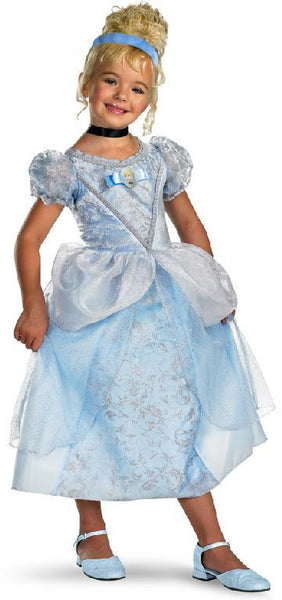 Kids Disney Princess Cinderella Deluxe Costume
