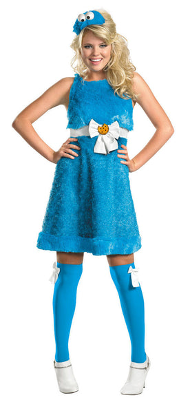 Adult Cookie Monster Sassy Costume