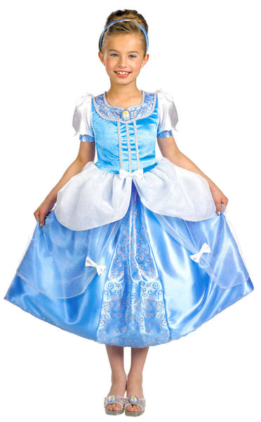 Kids Cinderella Deluxe Dress