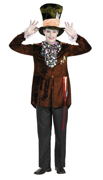 Adult Mad Hatter Deluxe Costume