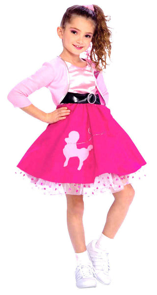 Kids 50's Girl Costume