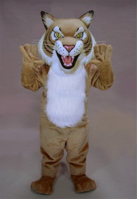 Fierce Wildcat Mascot