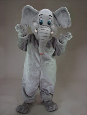 Cartoon Elephant Mascot