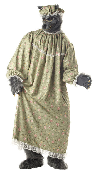 Adult Wolf Granny Costume