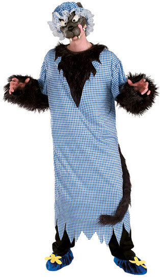 Adult Big Bad Wolf Costume - Deluxe