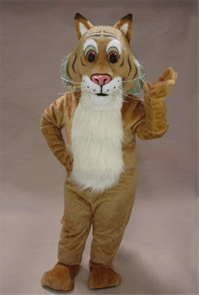 Friendly Bobcat Mascot