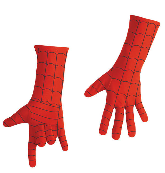 Adult Spiderman Gloves - Deluxe