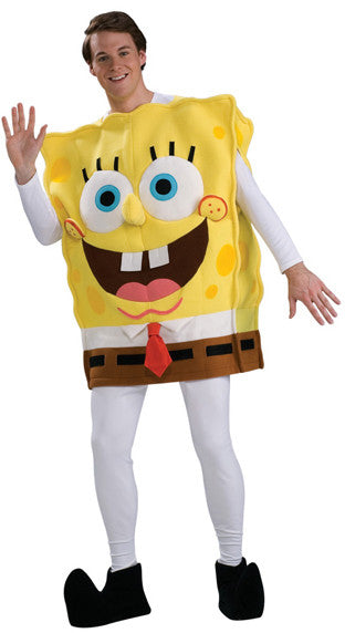 Adult SpongeBob Deluxe Costume