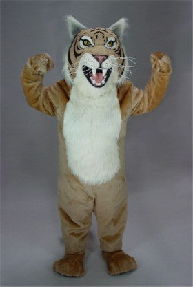 Tan Wildcat Mascot