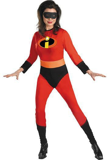 Adult Mrs. Incredible Costume - Elastigirl