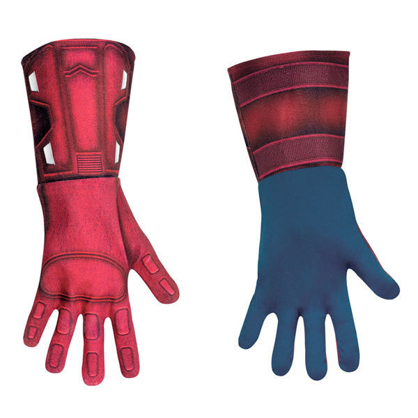 Adult Captain America Deluxe Gloves