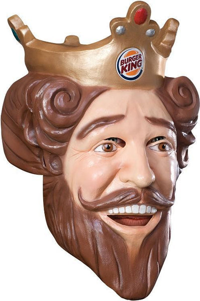 Adult Burger King Vinyl Mask