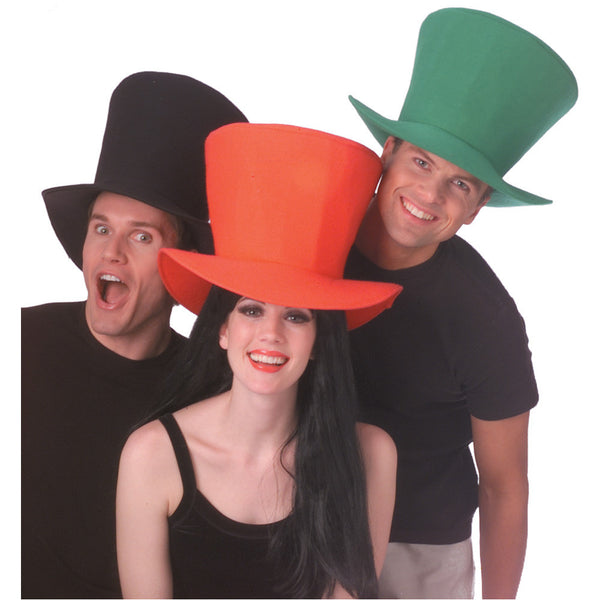 Adult Foam Fabric Top Hat