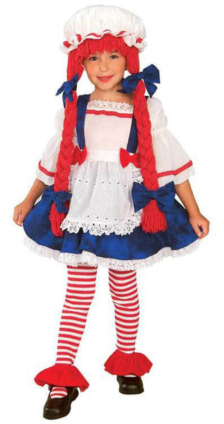 Kids Rag Doll Girl Costume