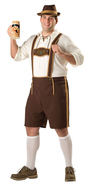 Adult Bavarian Guy Plus Costume