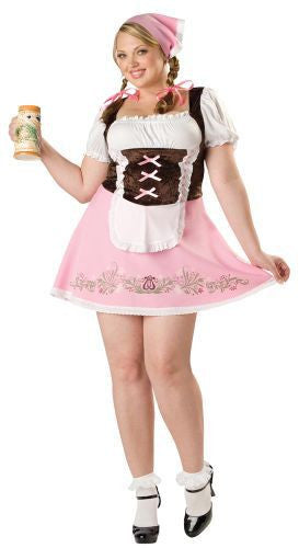 Adult Fetching Fraulein Plus Costume