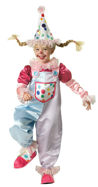 Kids Cutie Clown Costume