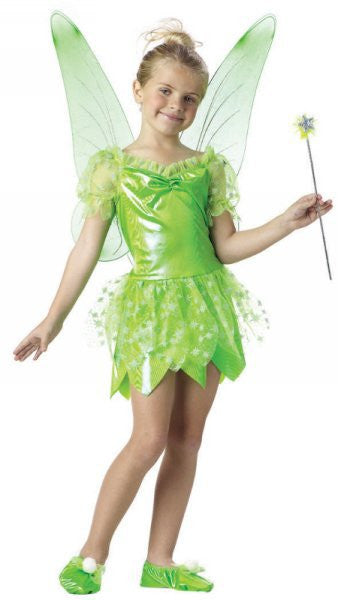 Kids Tinkerbell Fairy Costume