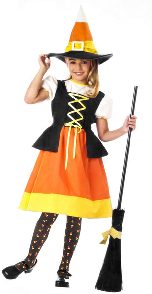 Kids Sweet Candy Witch Costume