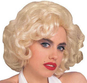 Adult Blonde Hollywood Starlet Wig