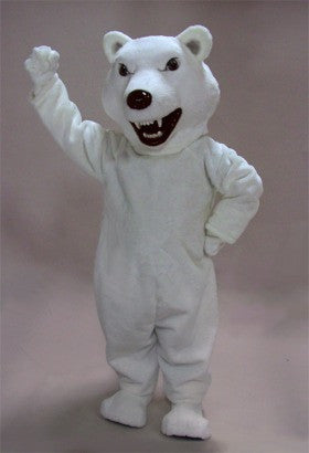 Mean Polar Bear Mascot