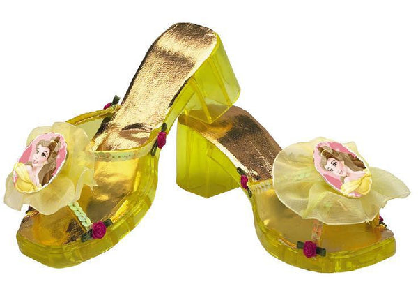 Kids Princess Belle Jelly Shoes - Deluxe