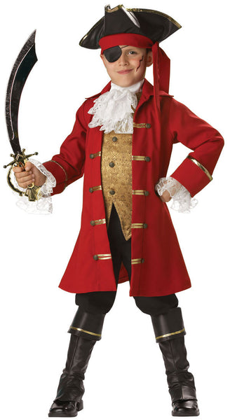 Pirate Captain Kids Costume