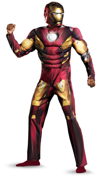 Adult Iron Man Mark VII Muscle Costume