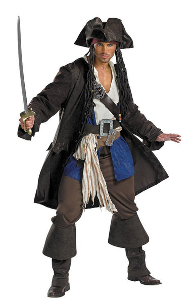 Adult Jack Sparrow Prestige Costume
