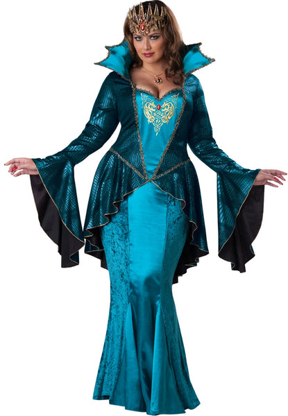 Adult Plus Medieval Queen Costume
