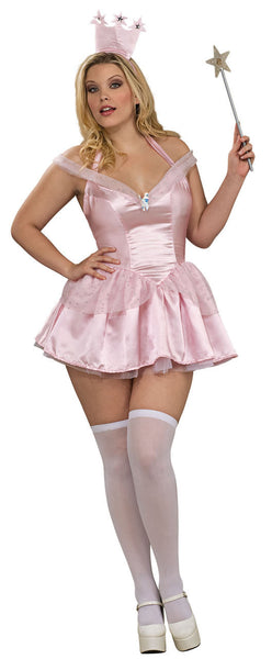 Adult Plus Glinda Costume