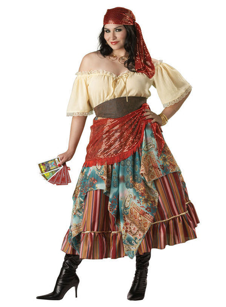 Adult Fortune Teller Plus Costume