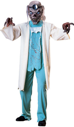 Adult Cryptkeeper Doctor Costume