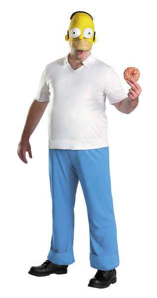 Adult Homer Simpson Costume