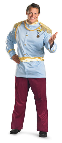 Adult Plus Prince Charming Deluxe Costume
