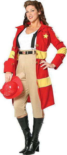 Fire Belle Adult Plus Costume