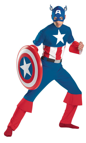 Adult Captain America Costume