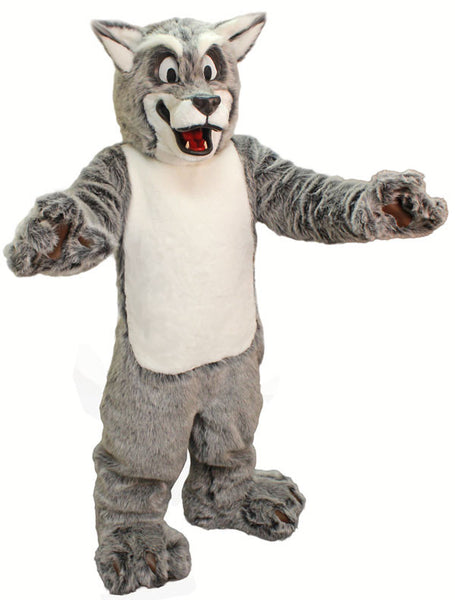 Friendly Wolf Mascot
