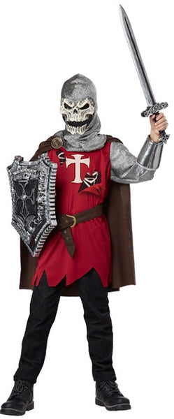 Kids Skull Knight Costume