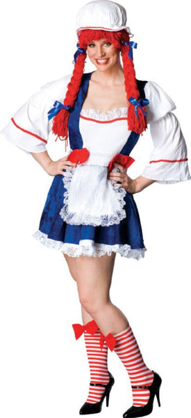Rag Doll Adult Plus Costume