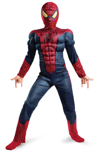 Kids Amazing Spider-Man Light-Up Muscle Costume