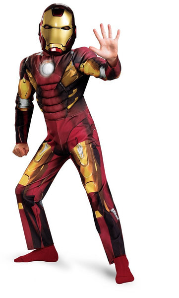 Child Iron Man Mark VII Muscle Costume