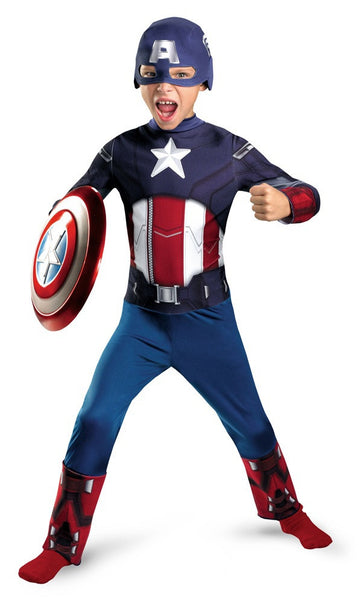 Child Captain America Costume