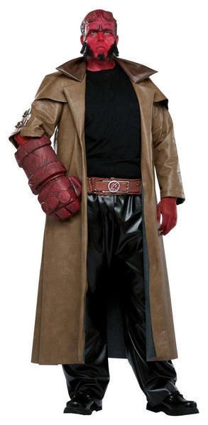 Adult Plus Hellboy Costume