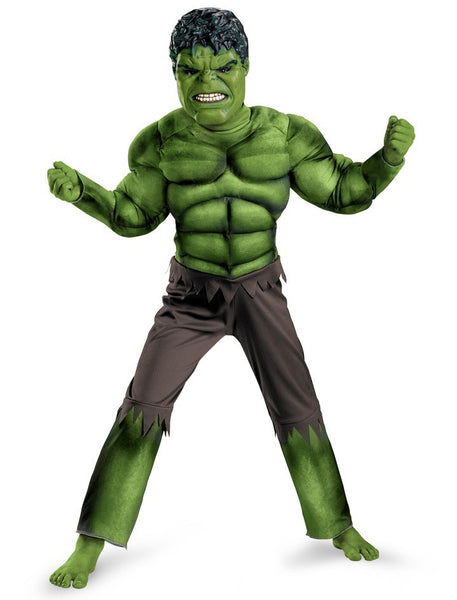 Child Hulk Muscle Costume