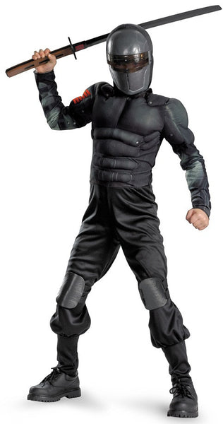 Kids Muscle Snake Eyes Costume