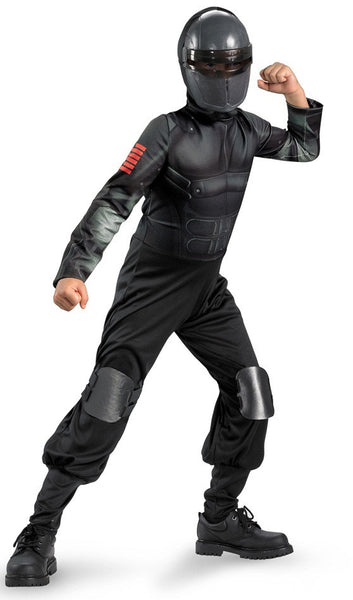 Kids Snake Eyes Costume