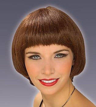 Adult Short Brown Wig