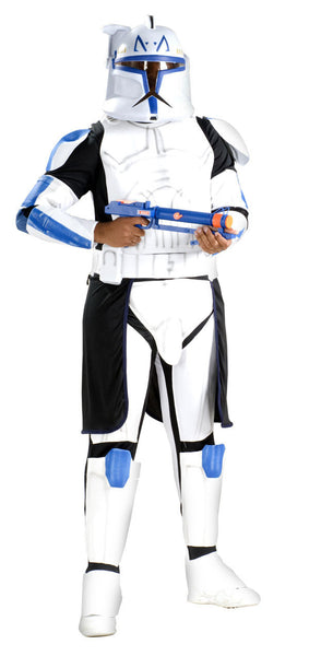 Adult Clone Trooper Captain Rex Deluxe Costume